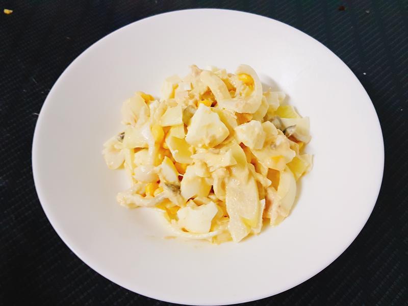 鮪魚洋蔥雞蛋沙拉
