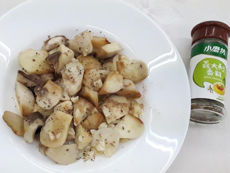 蒜香奶油杏鮑菇-中華二店氣炸鍋