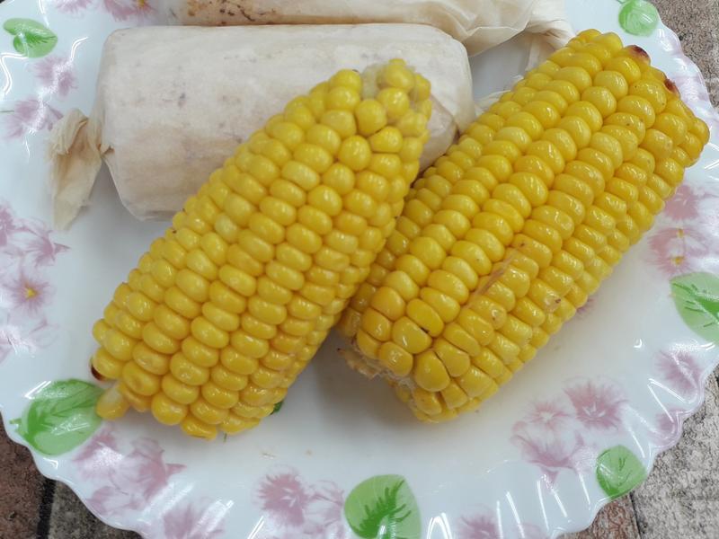 烤奶油玉米-中華二店氣炸鍋