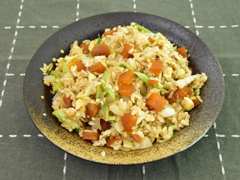 烏魚子蛋炒飯,美味的創意料理~
