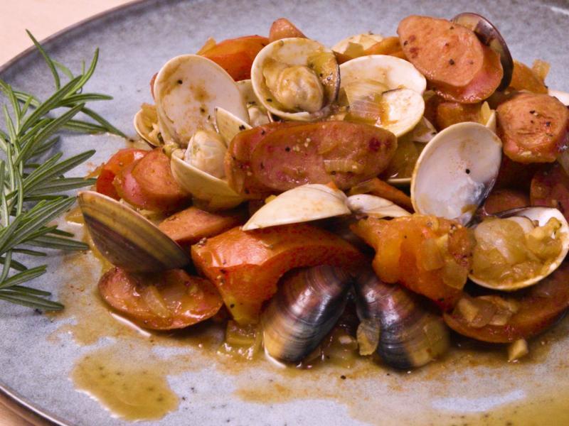 西班牙蛤蠣香腸