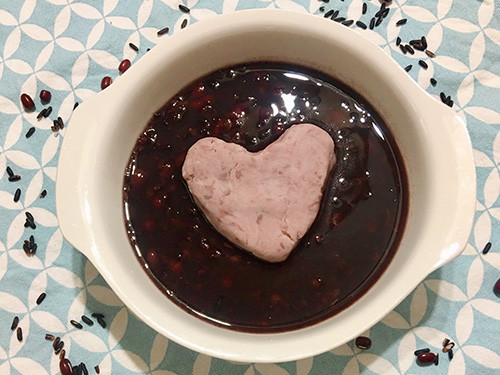 【飛利浦智慧萬用鍋】芋泥球紅豆紫米湯
