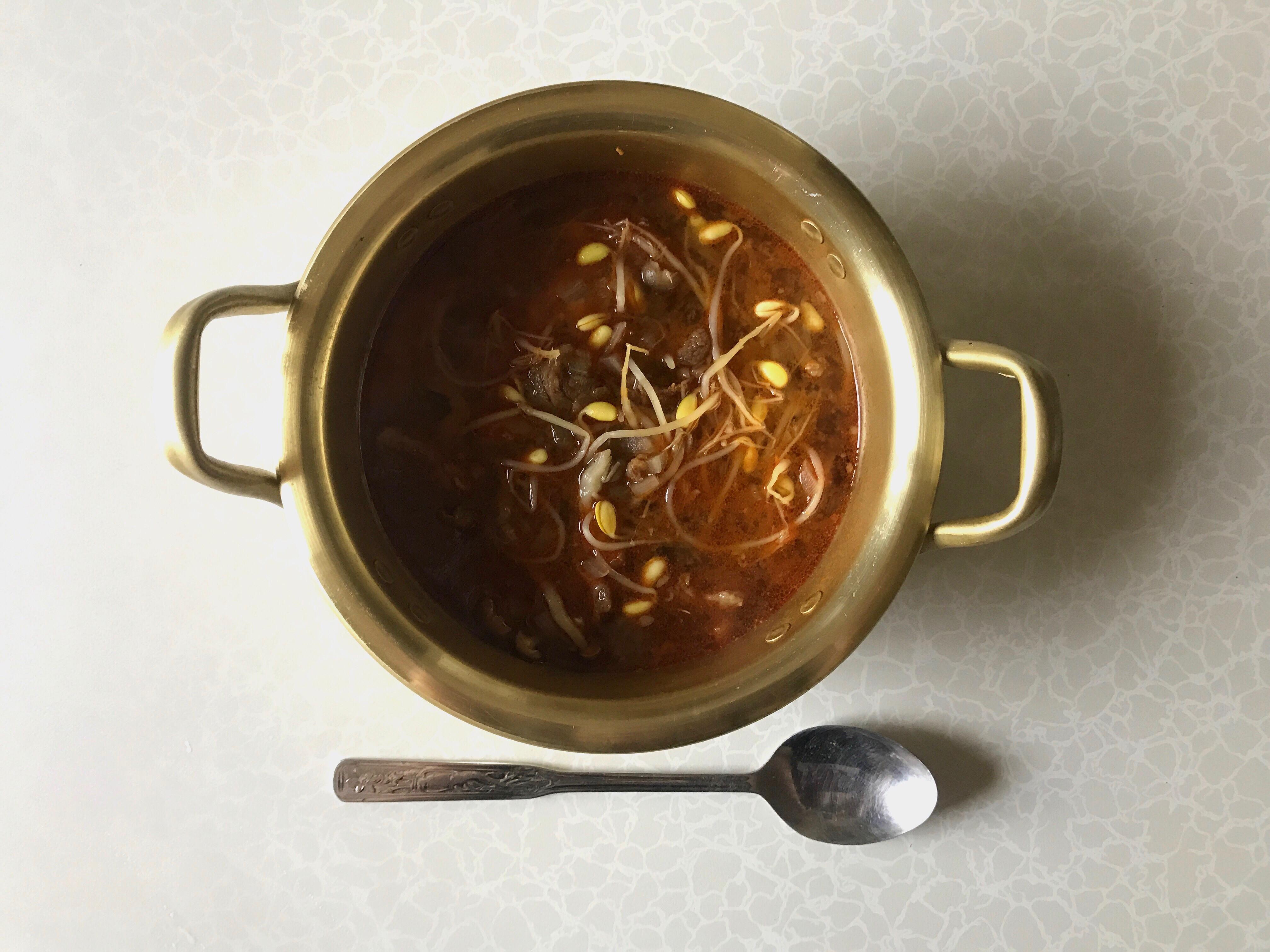 湯料理 韓式辣牛肉湯(低碳)