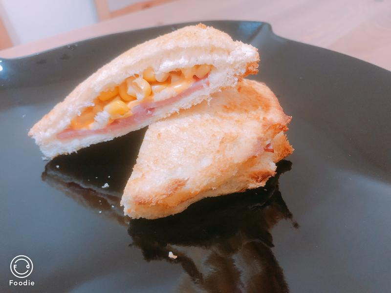 火腿起司🍔-全國電子竹東北興氣炸鍋食譜