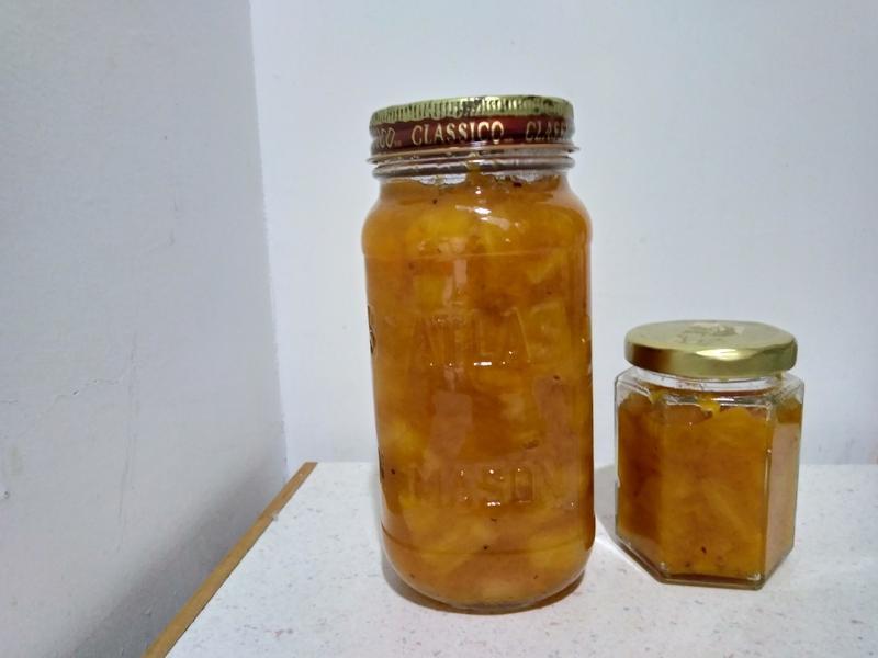 鳳梨芒果醬