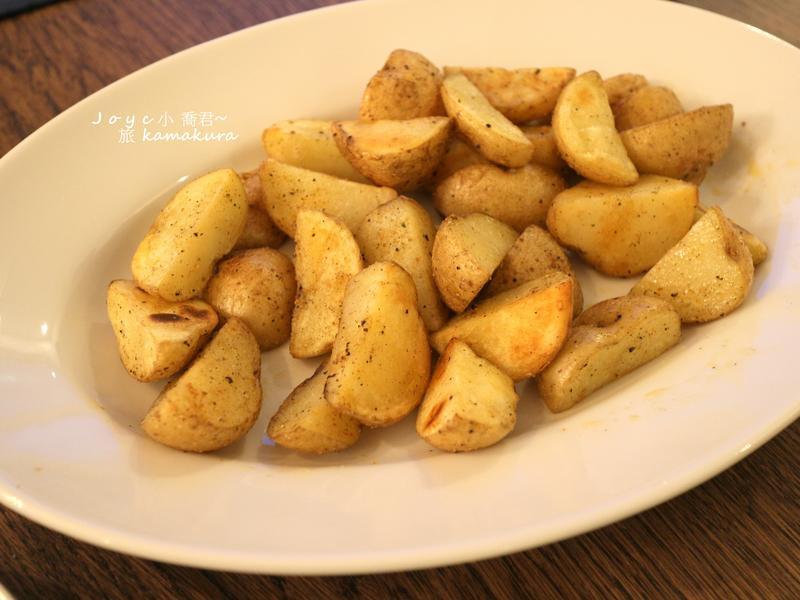七味胡椒薯塊(旅行料理)