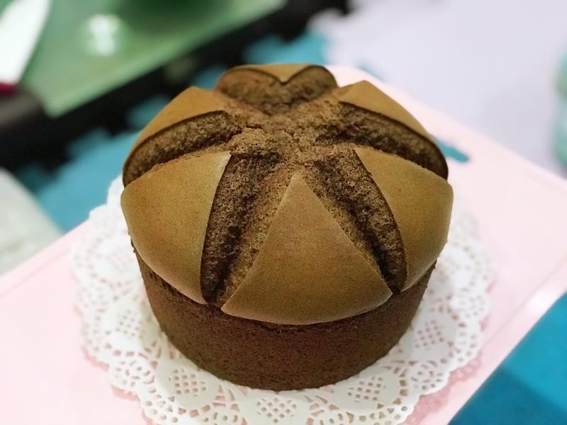 法芙娜可可戚風蛋糕(6吋、燙麵法)