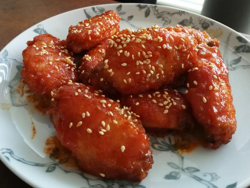 韓式雞翅(雞中翼)