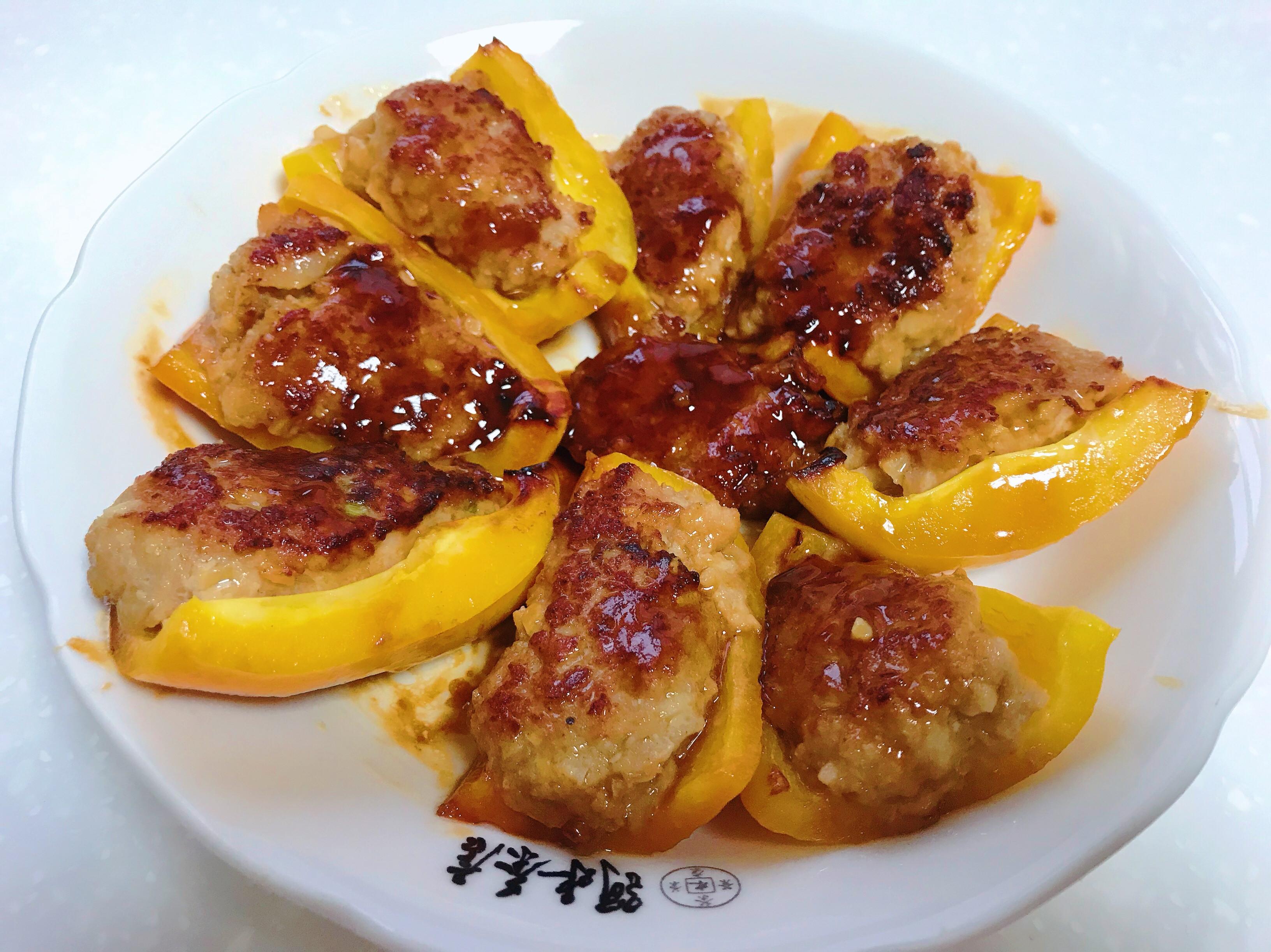 豬肉釀彩椒