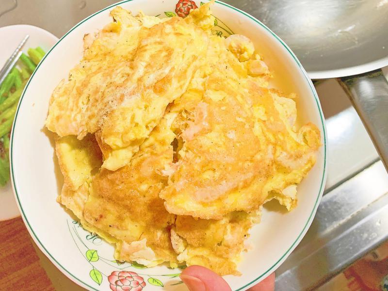 櫻花蝦煎蛋