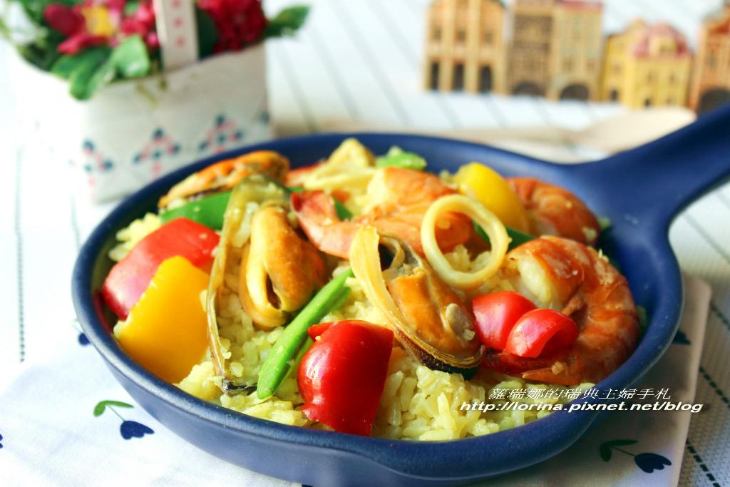 悶燒鍋版西班牙海鮮燉飯