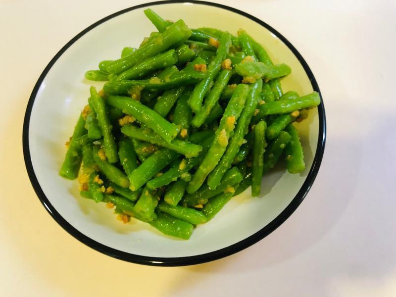 超簡單 涼拌四季豆