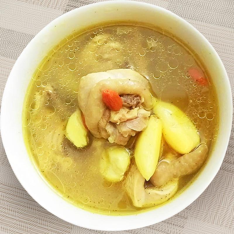 【厚生廚房】薑黃雞湯