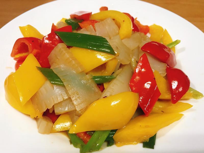 蒟蒻雙色甜椒