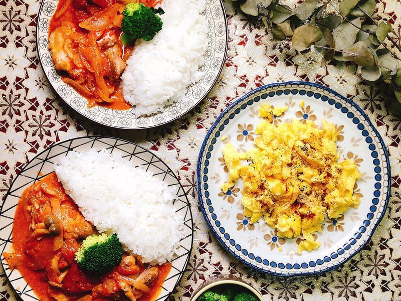 番茄起司燉雞肉-日劇-昨日的美食😋
