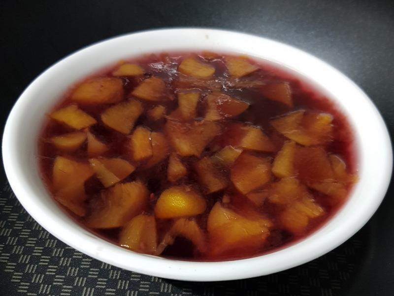 親子手作: 水蜜桃野莓果凍