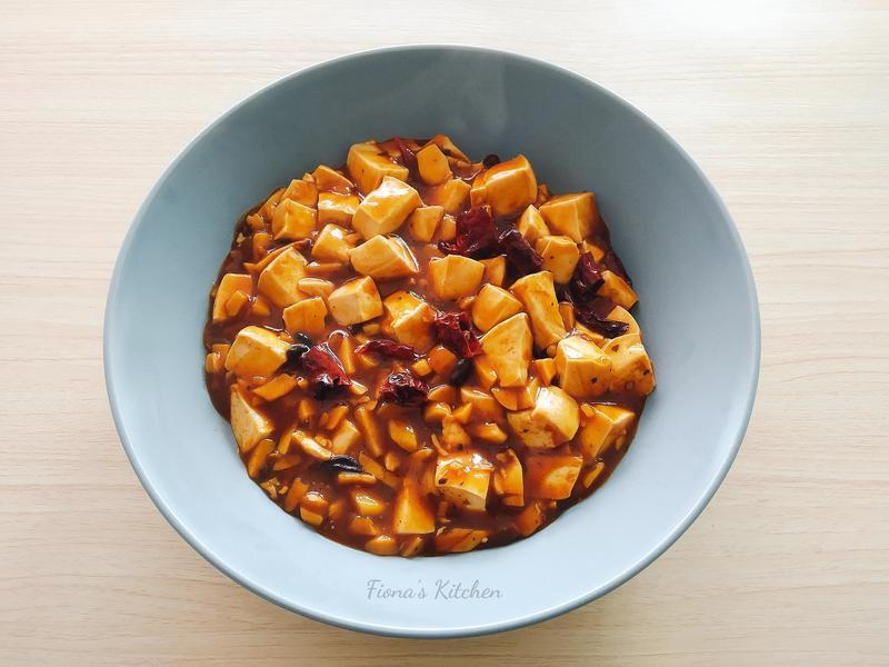 純素麻婆豆腐