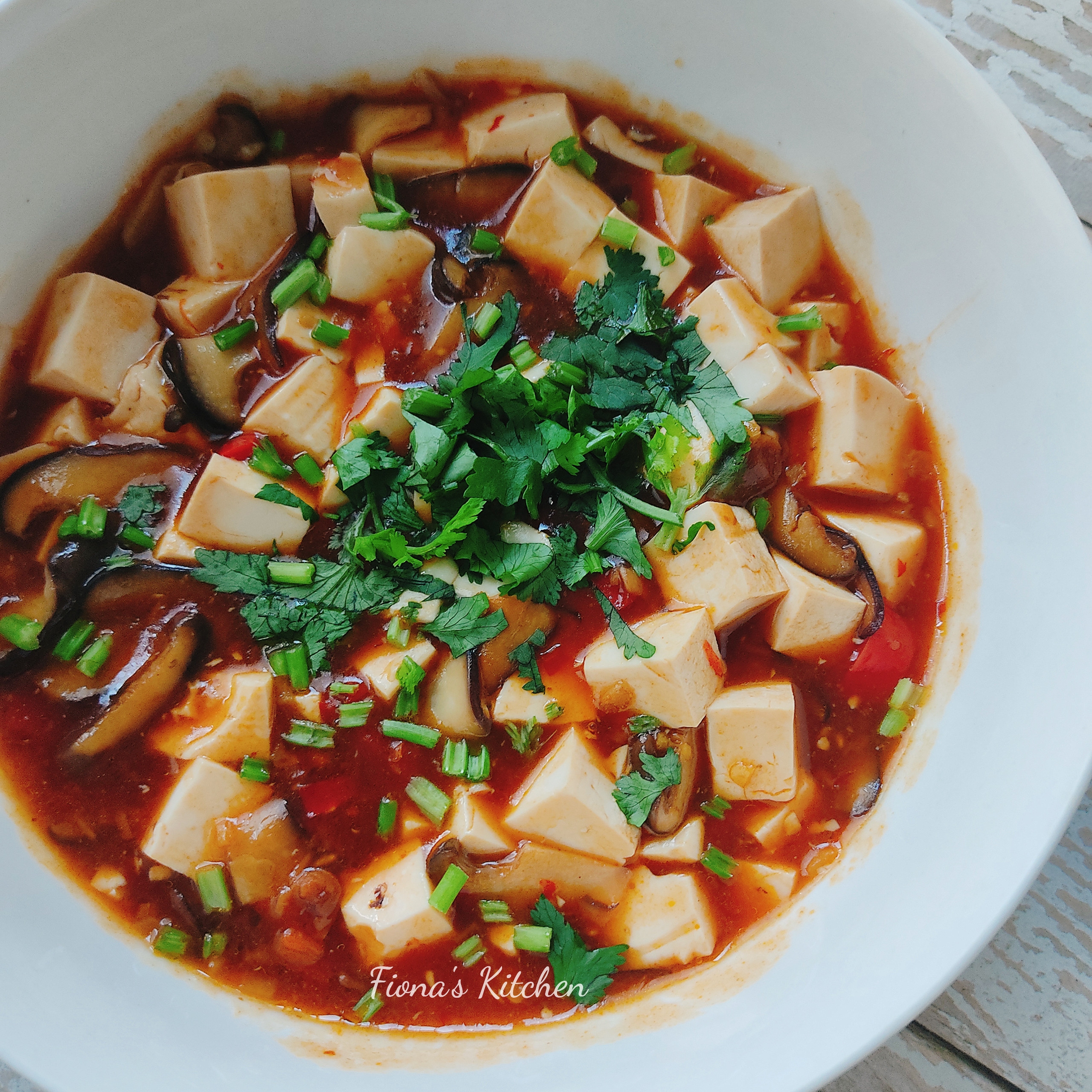 麻婆豆腐(純素)