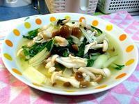 雙菇炒白菜