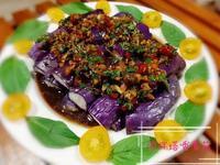 涼拌塔香紫茄