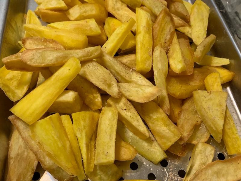 全素 炸地瓜薯條