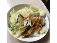 高麗菜炒木耳