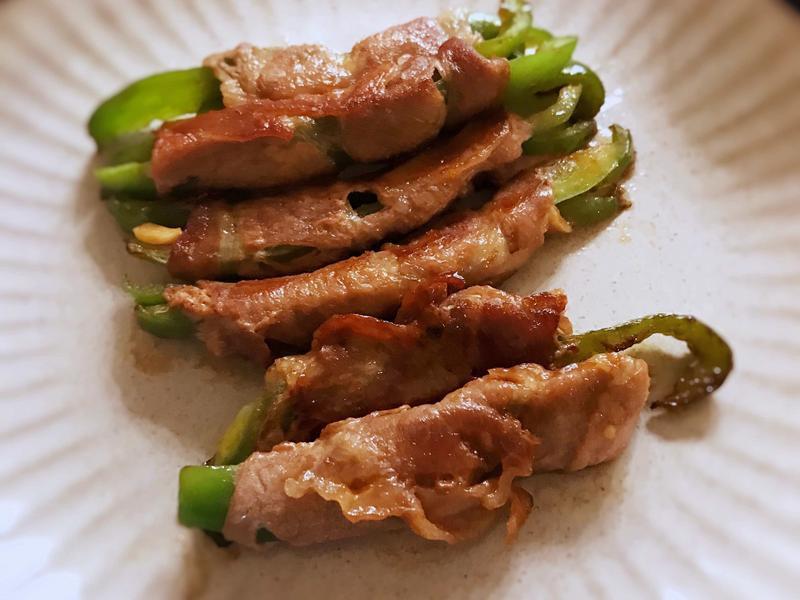 青椒肉卷 (露營OK)