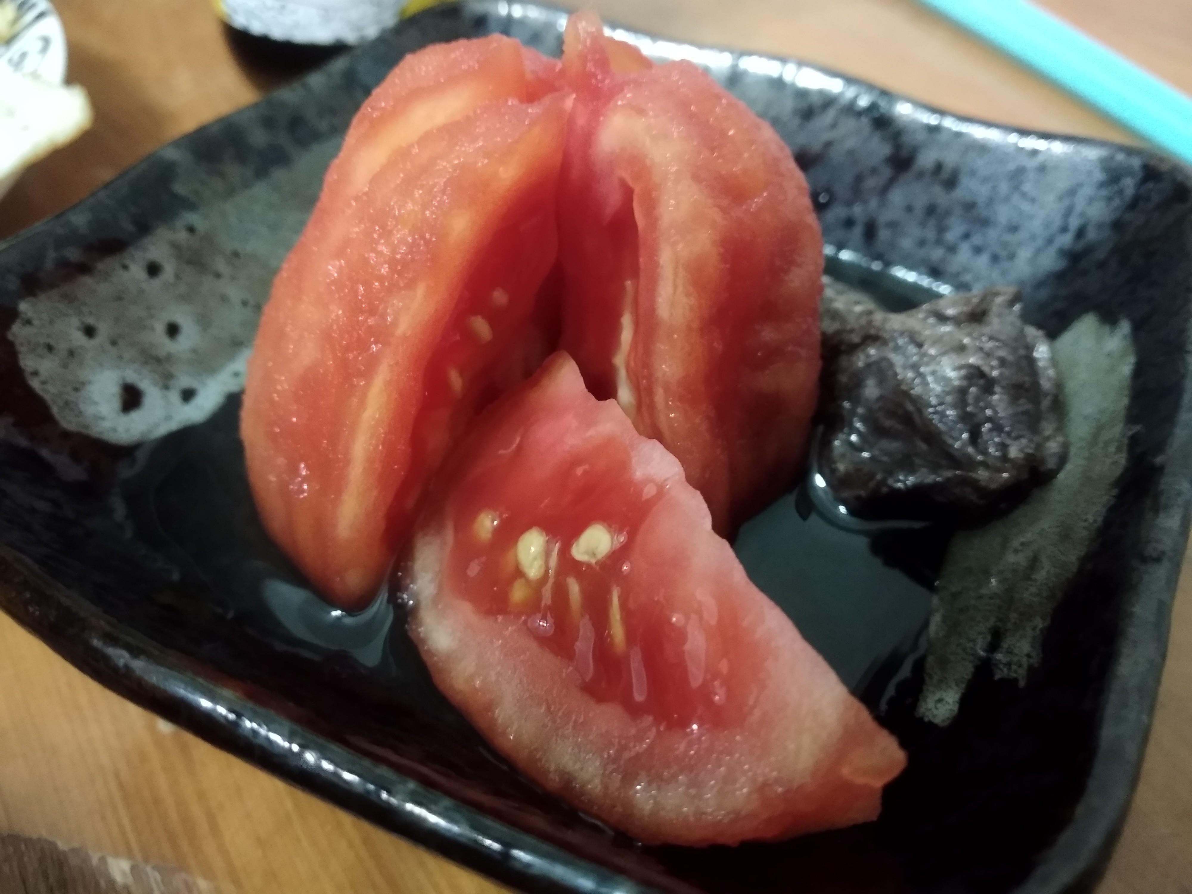 0失敗 冰涼的開胃冰箱小菜 梅子醃番茄