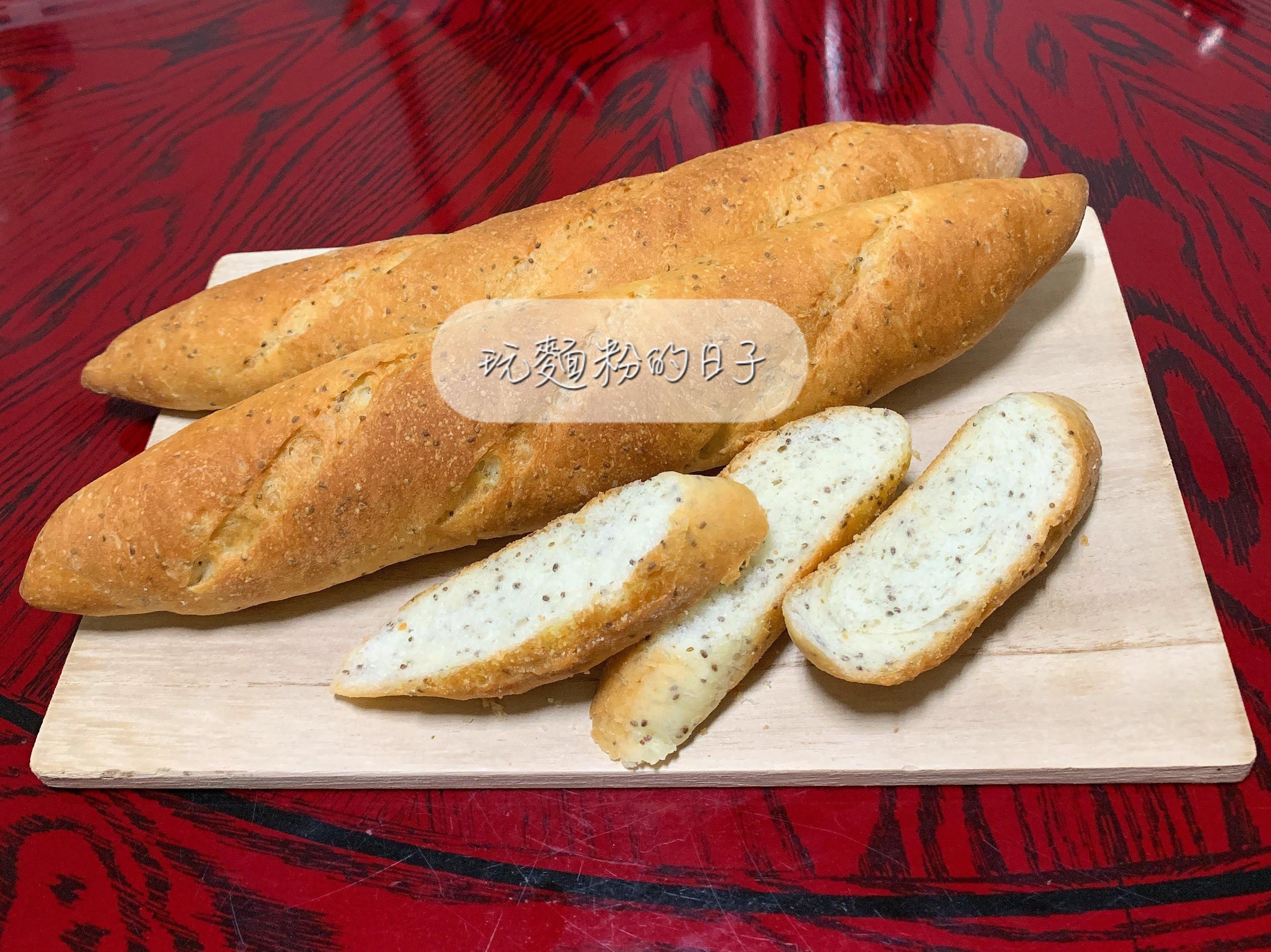 免揉奇亞籽麵包