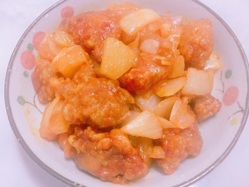 新歡氣炸鍋料理-糖醋排骨