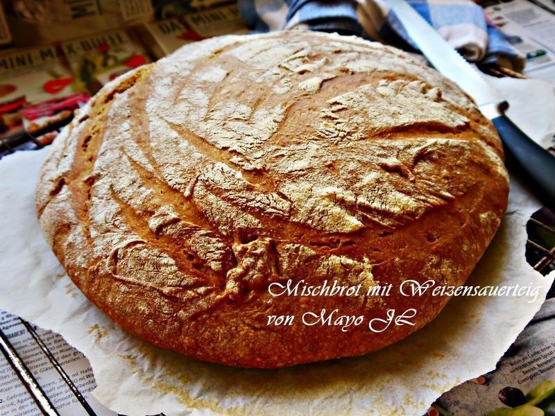 雙麥佐斯佩爾特酸麵糰麵包