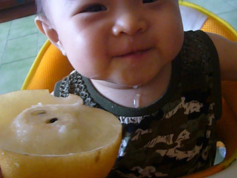 【小李子の飯飯】7M。天然ㄟ尚好!梨子稀粥
