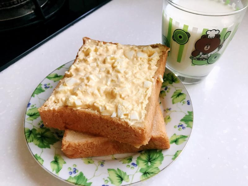 超簡單蛋沙拉三文治