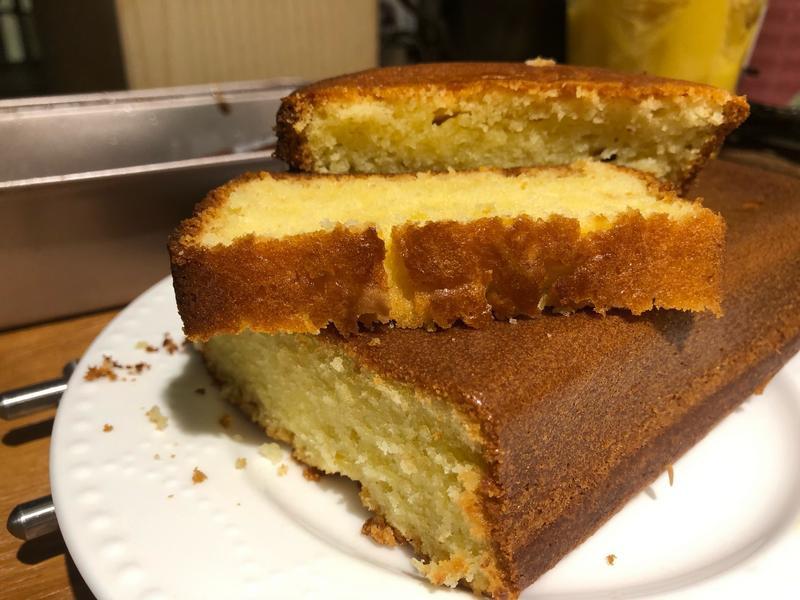 奶油香磅蛋糕