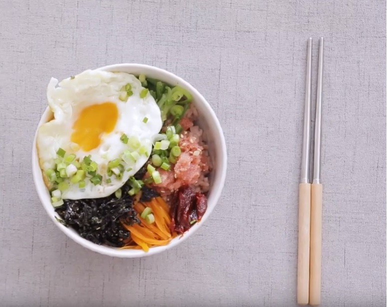 韓式明太子拌飯