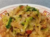 打拋醬炒山東大白菜~五分鐘家常菜