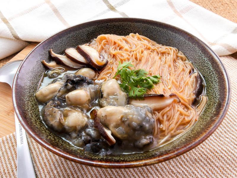 【厚生廚房】石蚵香菇麵線