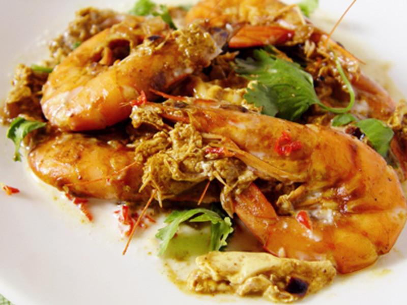 【厚生廚房】椰汁咖哩蝦