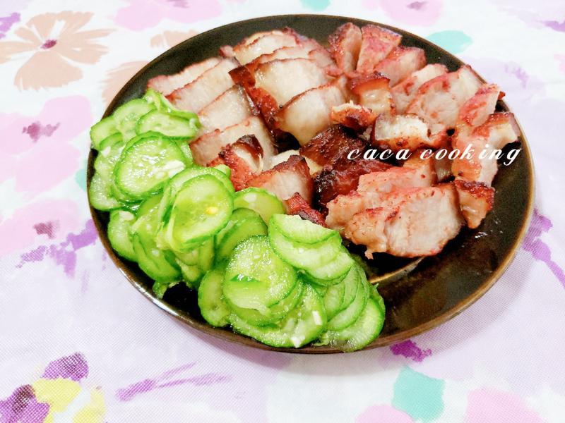 氣炸鍋料理:香酥紅麴五花肉
