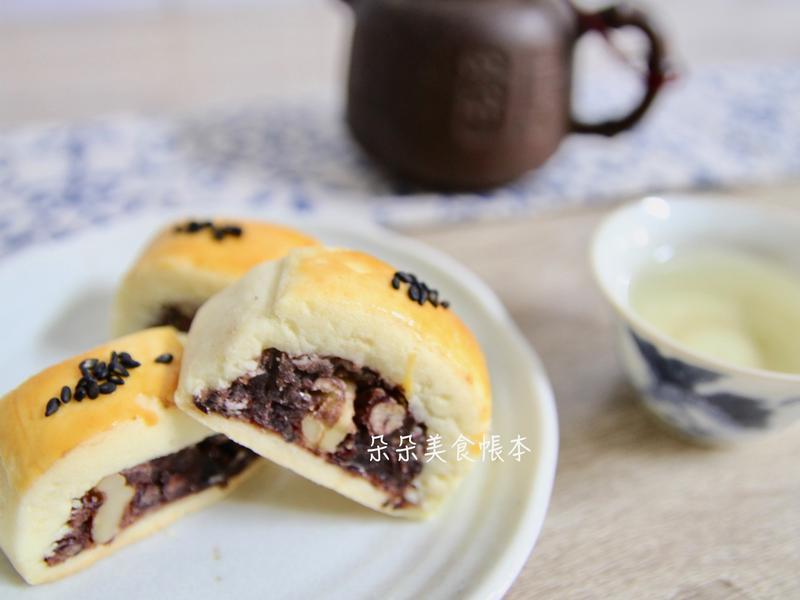 紅豆核桃酥 (自製紅豆沙)