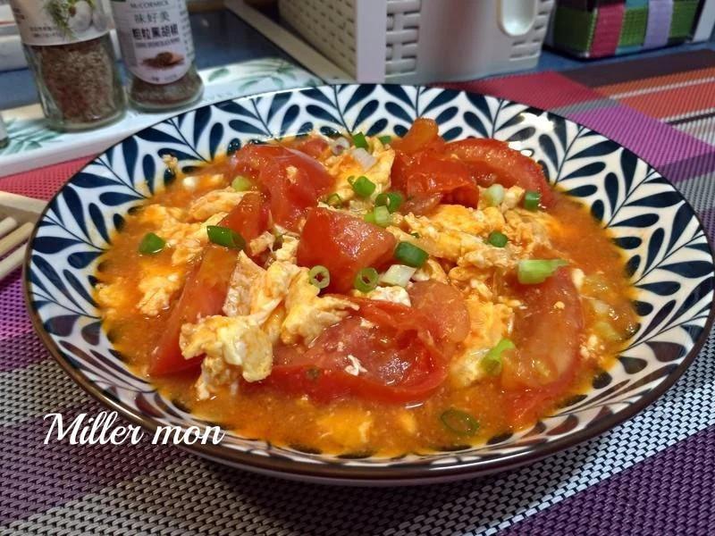 家常蔥香蕃茄炒蛋