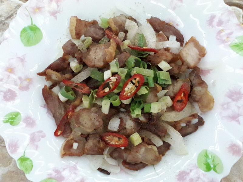 椒鹽蒜香豬五花肉-中華二店氣炸鍋