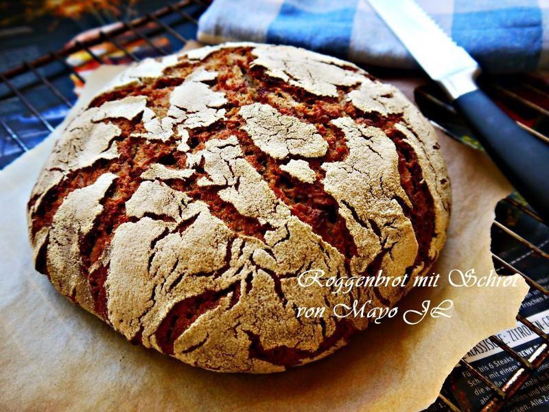 山林小屋:純黑麥麵包