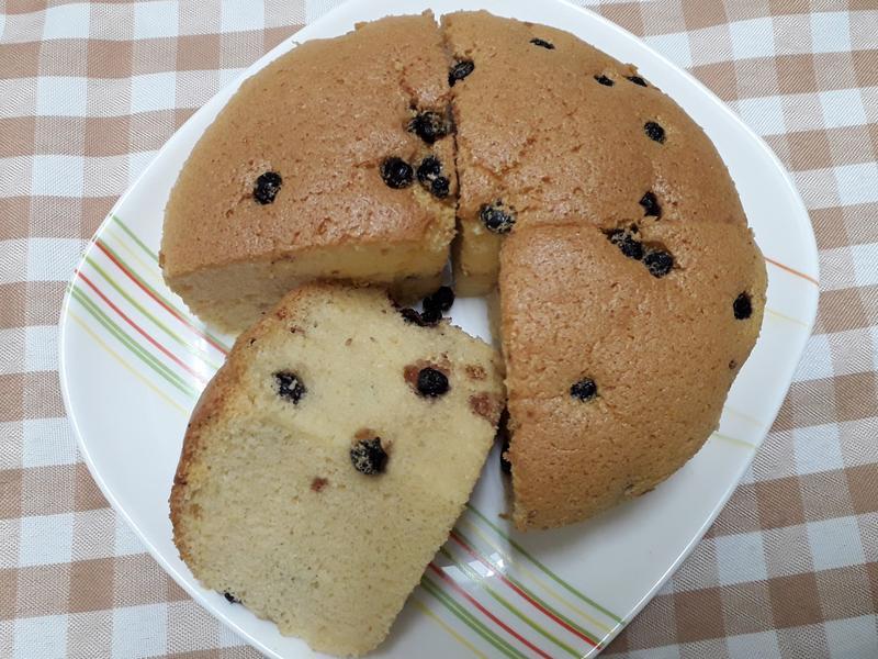 蜂蜜(藍莓)蛋糕-中華二店氣炸鍋