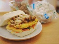 泡菜菇菇饅頭堡「好菇道營養料理」