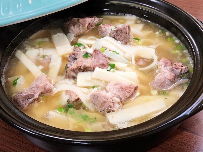 排骨竹筍湯