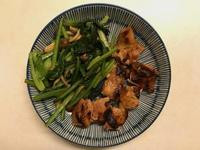 不沾鍋料理|味噌鹽麴雞腿排(低醣)