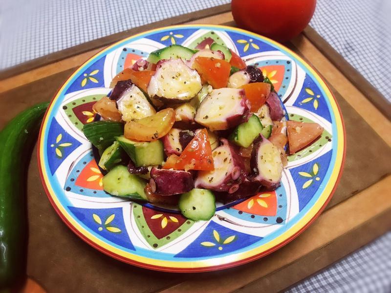 章魚沙拉~希臘式