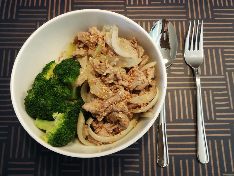 用炒鍋就能做出的「韓式烤肉飯」