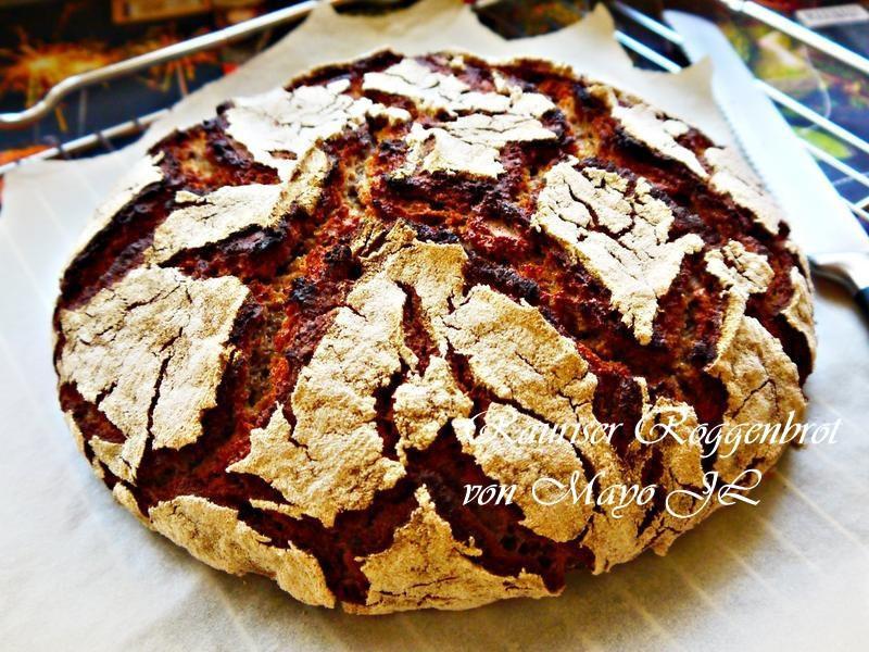 奧地利 勞爾斯人黑麥全麥酸麵糰麵包